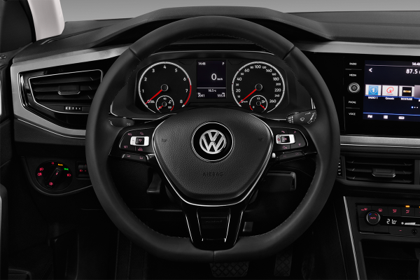 Leasing volkswagen polo 1 0 tsi 115 s s dsg7 carat for Polo 7 interieur