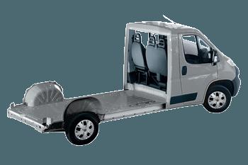 Fiat Ducato plancher cabine Ducato phc 3.5 l 3.0 gnv 140 euro 6