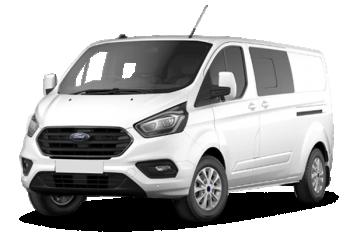 Ford Transit custom cabine approfondie Transit custom ca 300 l1h1 2.0 ecoblue 105