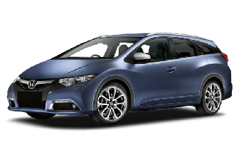 Honda civic tourer en promotion