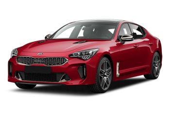 Kia stinger en promotion
