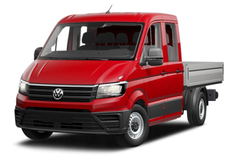 Volkswagen Crafter chassis double cabine plateau Crafter cdc plateau 4motion 35 l3 2.0 tdi 140ch