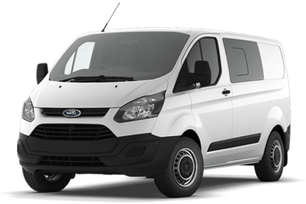 ford transit custom cabine approfondie neuf utilitaire. Black Bedroom Furniture Sets. Home Design Ideas