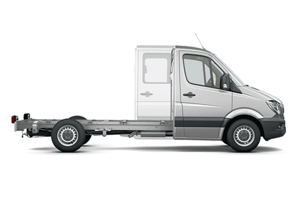 Mercedes SPRINTER CHASSIS DOUBLE CABINE
