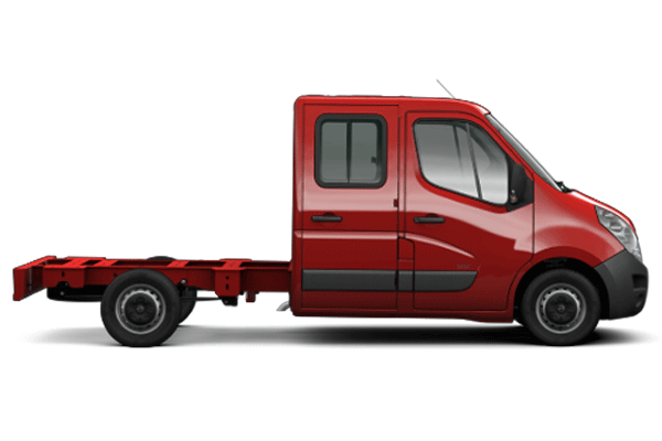 Opel MOVANO CHASSIS DOUBLE CABINE
