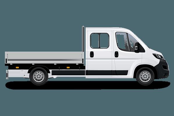 Peugeot BOXER PLATEAU DOUBLE CABINE